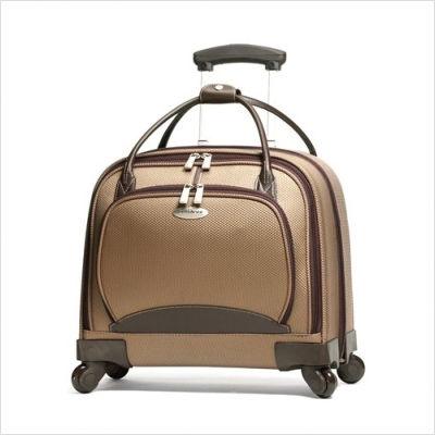 Women's+Spinner+Mobile+Office+Suitcase+in+Mocha