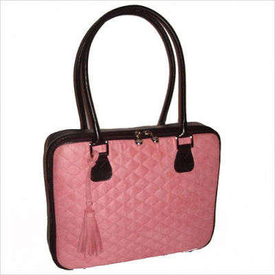 Faux+Suede+16_++Laptop+Bag+in+Pink+Quilt