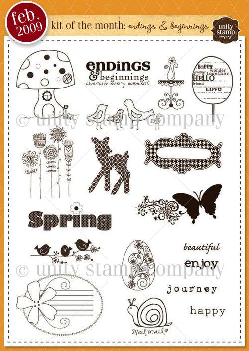 Feb 09 endings and beginnings