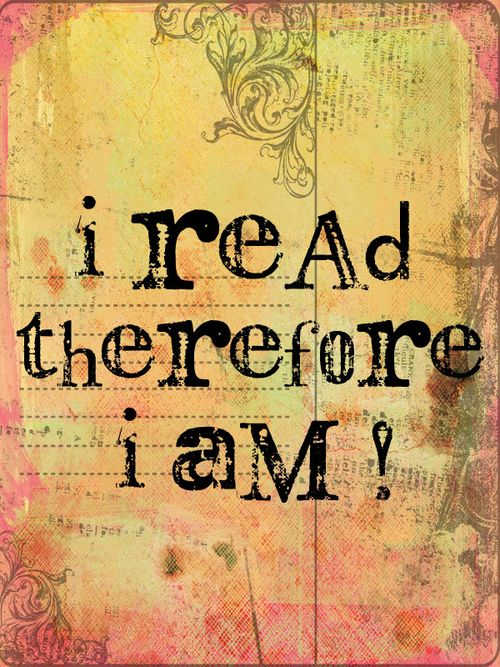 I-read-therefore