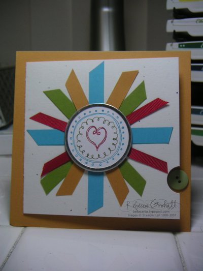 stampin up cards. we did at the Stampin#39; Up!